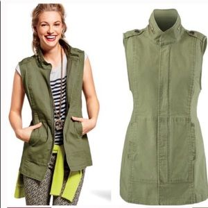Cabi army green vest